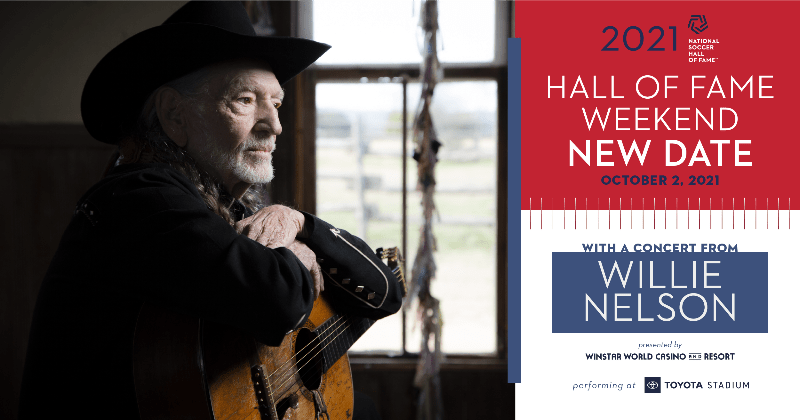 ON THE MOVE: National Hall of Fame Weekend, Willie Nelson concert moved to Oct. 2
