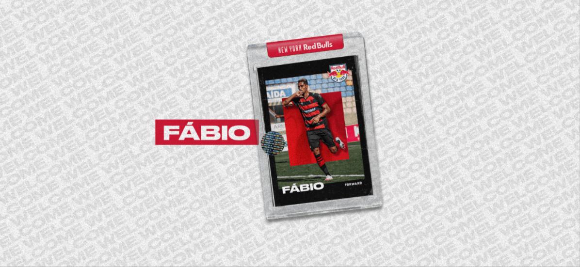 WITH AN OPTION TO BUY: Red Bulls add Brazilian forward Fabio on loan