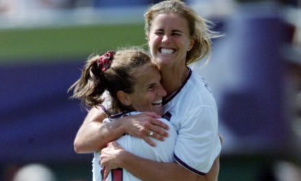 WOMEN'S SOCCER HISTORY MONTH (Day 10): When Brandi lost her shirt, but the USWNT gained a world championship (1999)