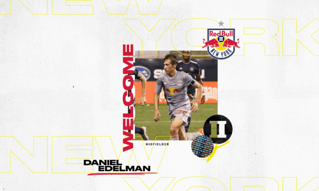 MOVING ON UP: Red Bulls Academy product Edelman signs with Red Bulls II