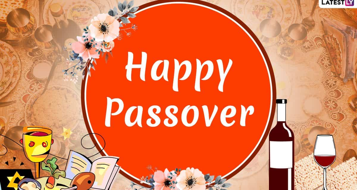 HAPPY PASSOVER:  We wish the Jewish soccer community a happy holiday