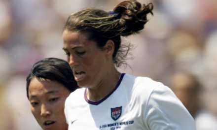 WOMEN'S SOCCER HISTORY MONTH (Day 8): Julie Foudy: Player with a social conscience (1997)