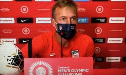 AND YOU CAN QUOTE HIM: Kreis talks about USA's Olympic qualifying win
