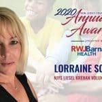 VOLUNTEER OF THE YEAR: NJYS honors Schubert
