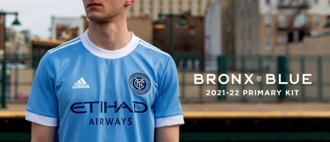 PRIMARY COLORS: NYCFC unveils its 2021 kit, honoring the city's heroes