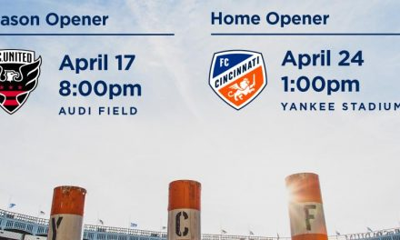 ON THE ROAD: NYCFC to open at D.C. United April 17, host Cincy April 24