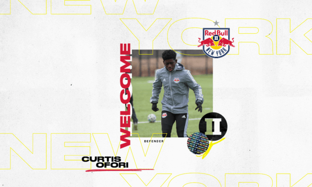 SOME YOUNG IDEAS: Ofori (15 years, 122 days) signs with Red Bulls II, youngest in franchise history
