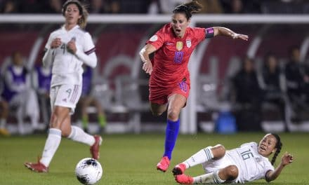 WOMEN'S SOCCER HISTORY MONTH (Special): Lloyd's of London: Midfielder shows her value with yet another winning goal in an Olympic final