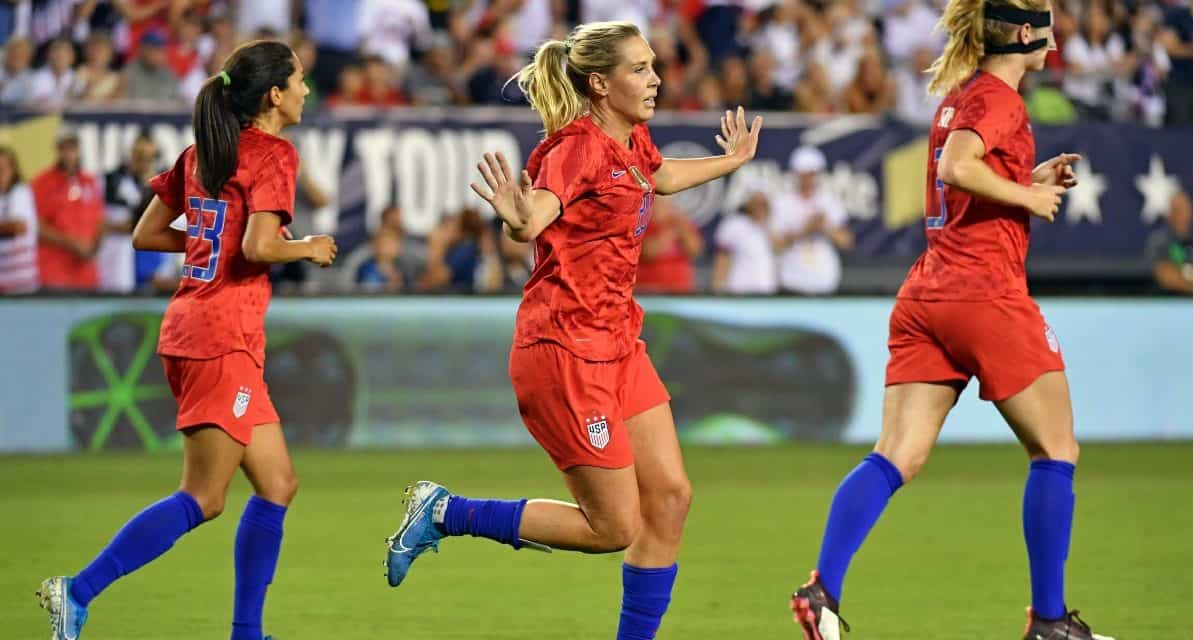 WOMEN'S SOCCER HISTORY MONTH (Day  7): Allie's Long journey: U.S. midfielder's success has been a combination of superior talent and an inner drive second to none (2019)