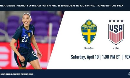 SWEDEN BOUND: USWNT to play there April 10