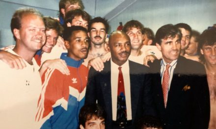 A MARVELOUS TIME WITH MARVIN: USMNT players remembers when Hagler visited team after loss to Italy at 1990 World Cup