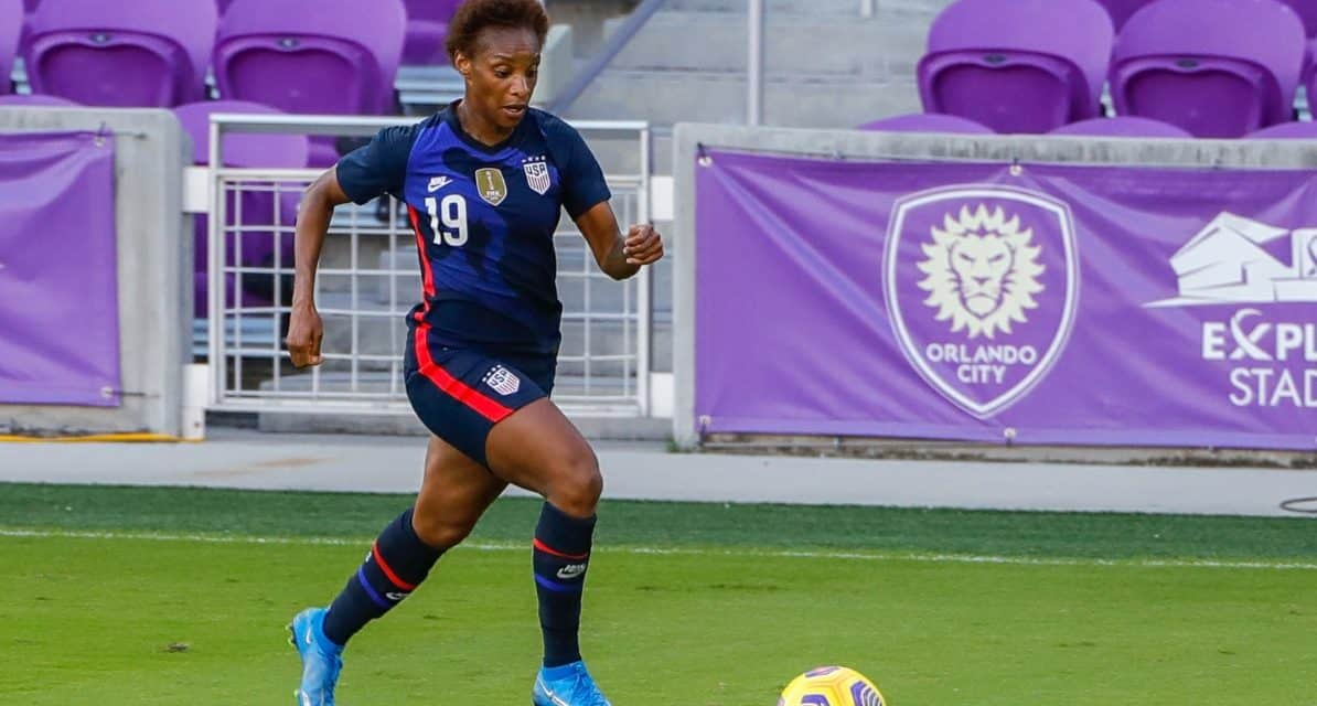 WOMEN'S SOCCER HISTORY MONTH (Day 23): Crystal Dunn bounces back from disappointment of not making USWNT WWC team by dominating NWSL (2015)