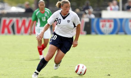 WOMEN'S SOCCER HISTORY MONTH (Day 1): Abby Wambach is poised to become the new face of American women's soccer (2004)