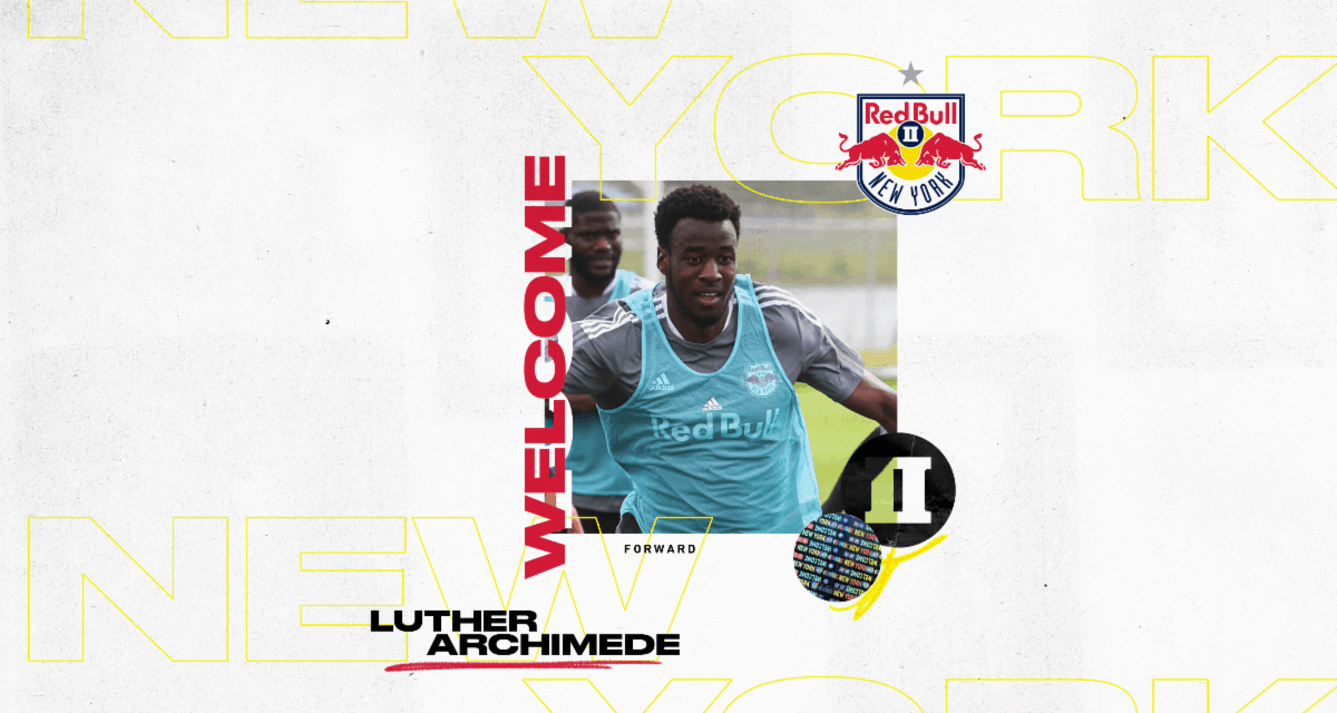 SIGNING ON: Red Bulls II inks Archimede to USL Championship contract