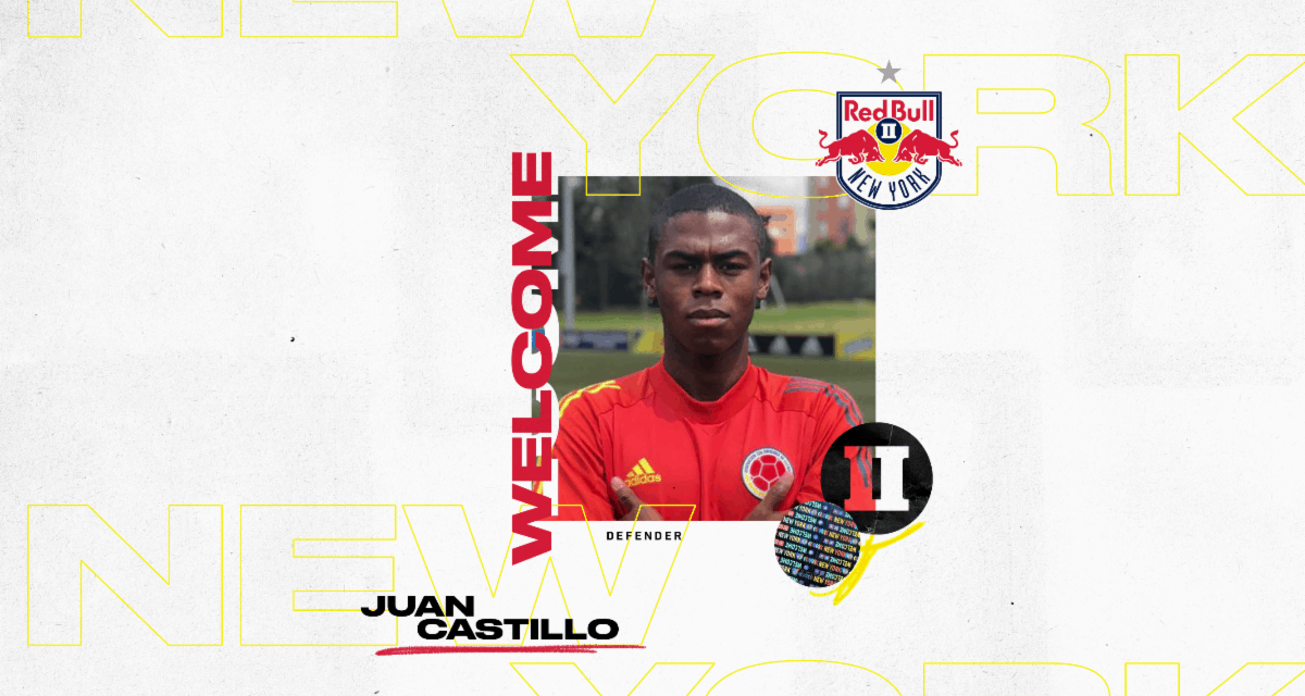 HOPING HE'S THE JUAN: Red Bulls II sign Colombian defender Castillo