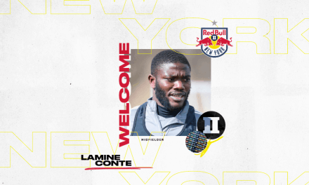 WELCOME ABOARD: Red Bulls II signs Conte