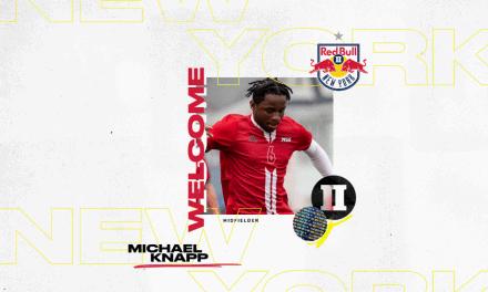 IT'S KNAPP TIME: Red Bulls sign Academy midfielder