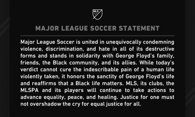 MLS STATEMENT: On Chauvin murder conviction