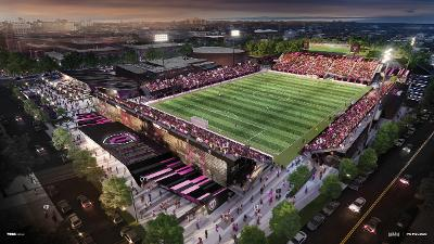THERE'S NO PLACE LIKE HOME: QBFC unveils stadium plans at York College