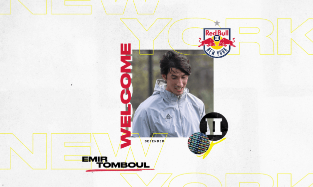 SIGNING ON: Red Bulls II add defender