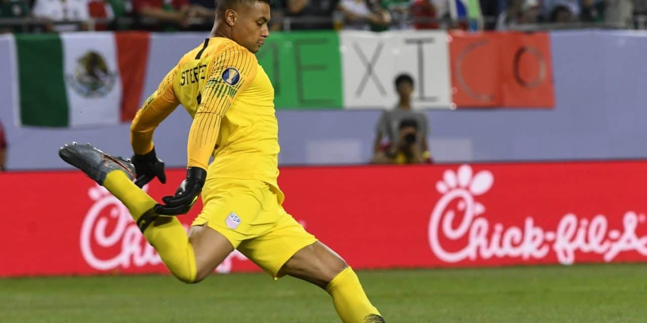 GOING FOURTH: Steffen 4th USMNT player to win English League Cup final