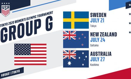 GROUP OF DEATH AND DEPTH: USWNT to play No. 5 Sweden (again), No. 9 Australia, No. 22 New Zealand in Olympic group stage