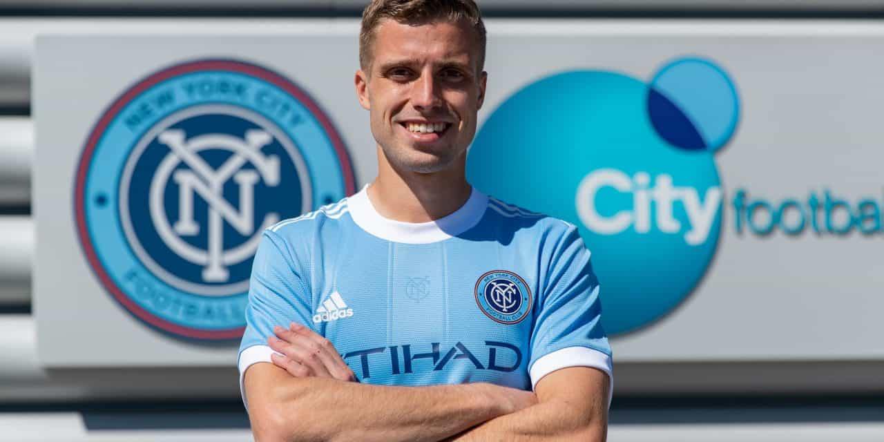 TAKING A SLIGHTLY DIFFERENT ROUTE: Latinovich's path to NYCFC included a three-year stay at a Serbian soccer academy