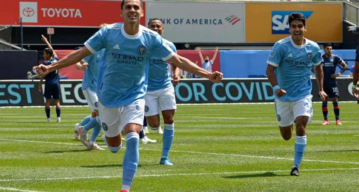 A VERY HIGH FIVE: Medina, NYCFC crushes FC Cincy, 5-0