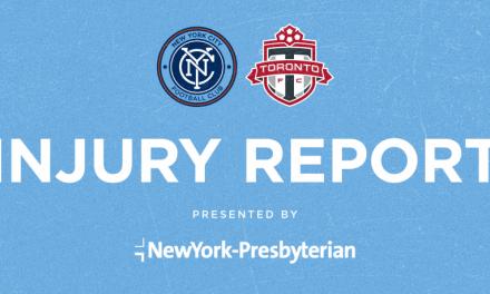 NYCFC INJURY REPORT: Moralez, Morales, Tinnerholm, Zelalem questionable