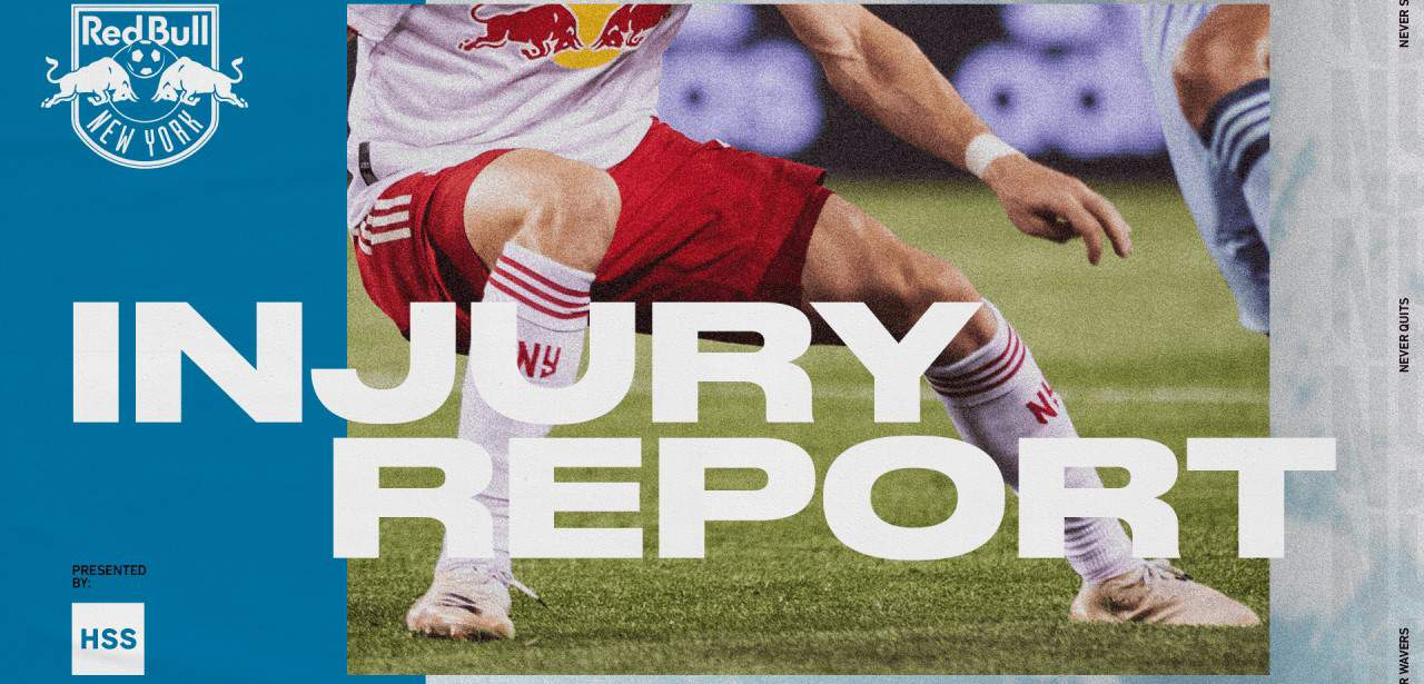 RED BULLS AVAILABILITY/INJURY REPORT: Yellow-card accumulation sidelines Duncan