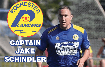 THE CAPTAIN IS BACK: Schindler returns to the Lancers