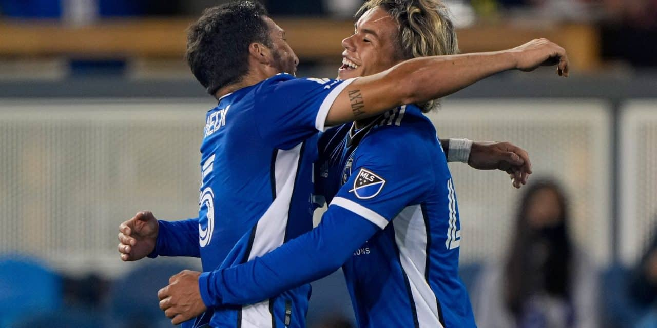 EARTH-SHATTERING NEWS: Quakes' Cowell MLS player of the week