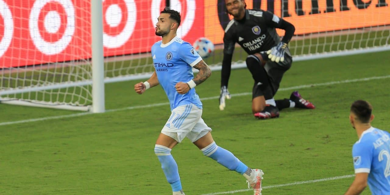 TYING TWO ON: Draw at Orlando lifts NYCFC into a first-place tie