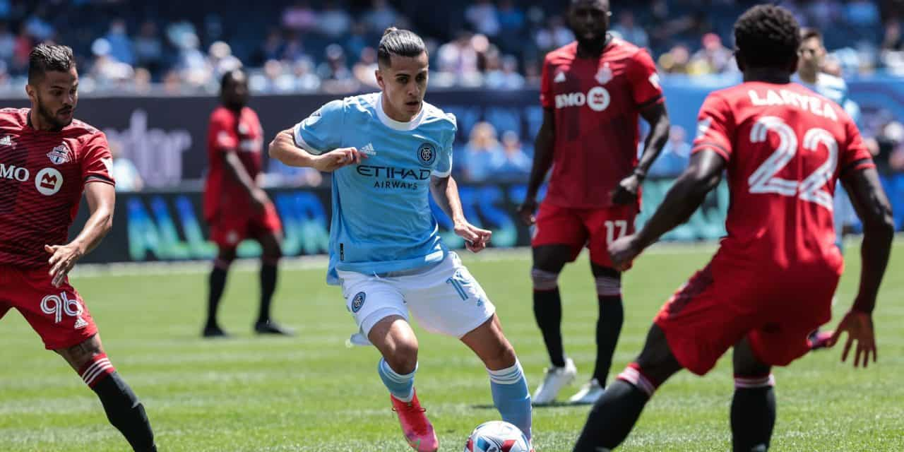 A TOUGH TIE: Controversial play costs NYCFC a goal as it settles for a tie with Toronto FC