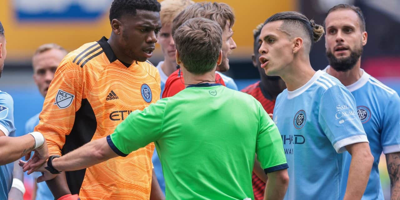 'WE GOT ROBBED BY THE REF': Deila's reaction to the play that cost NYCFC a goal and perhaps a win