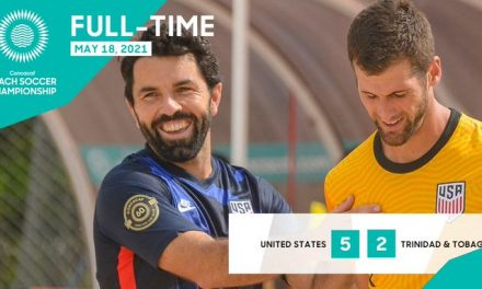 WIN ONE, LOSE ONE: COVID-19 shleves Dilbert from beach soccer qualifying while USA wins again