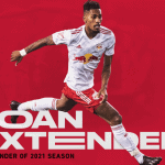 LOAN EXTENSION: Fábio to remain with Red Bulls through end of the season