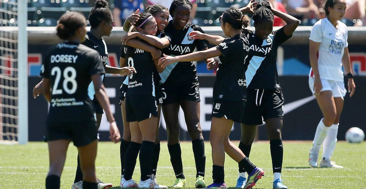 DOUBLING THEIR PLEASURE: Gotham FC reign over OL Reign, 3-0