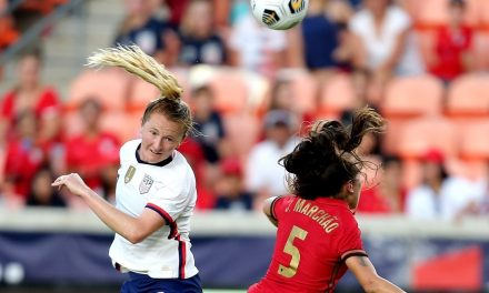 UNDERACHIEVERS: Mewis goal lifts sloppy USWNT over Portugal