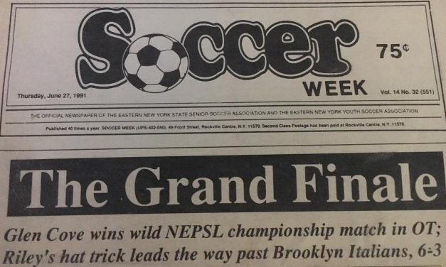 30 YEARS AGO TODAY: A memorable match in which Glen Cove beat Brooklyn Italians to win NEPSL title