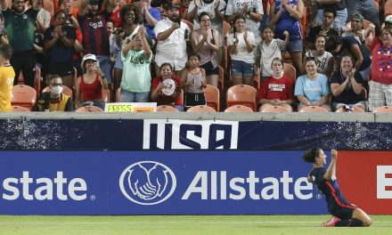 EARLY AND OFTEN AND LATE: Lloyd ignites USWNT's 4-0 win over Reggae Girlz