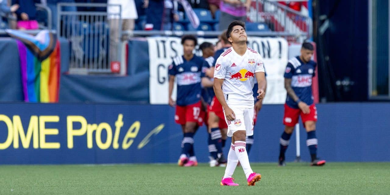 TOO DEEP OF A HOLE: Red Bulls can't dig their way out of a three-goal deficit vs. Revs, lose, 3-2