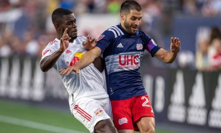 MLS HONORS: Revs' Gil named player of the week after scorching Red Bulls