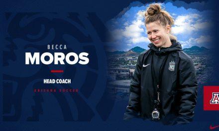 ARIZONA BOUND: Gotham FC's Moros takes Wildcats' head coaching position