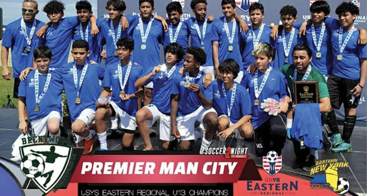 HEADING FOR THE SUNSHINE STATE: Brentwood Premier Man City aims for Boys U-13 national title