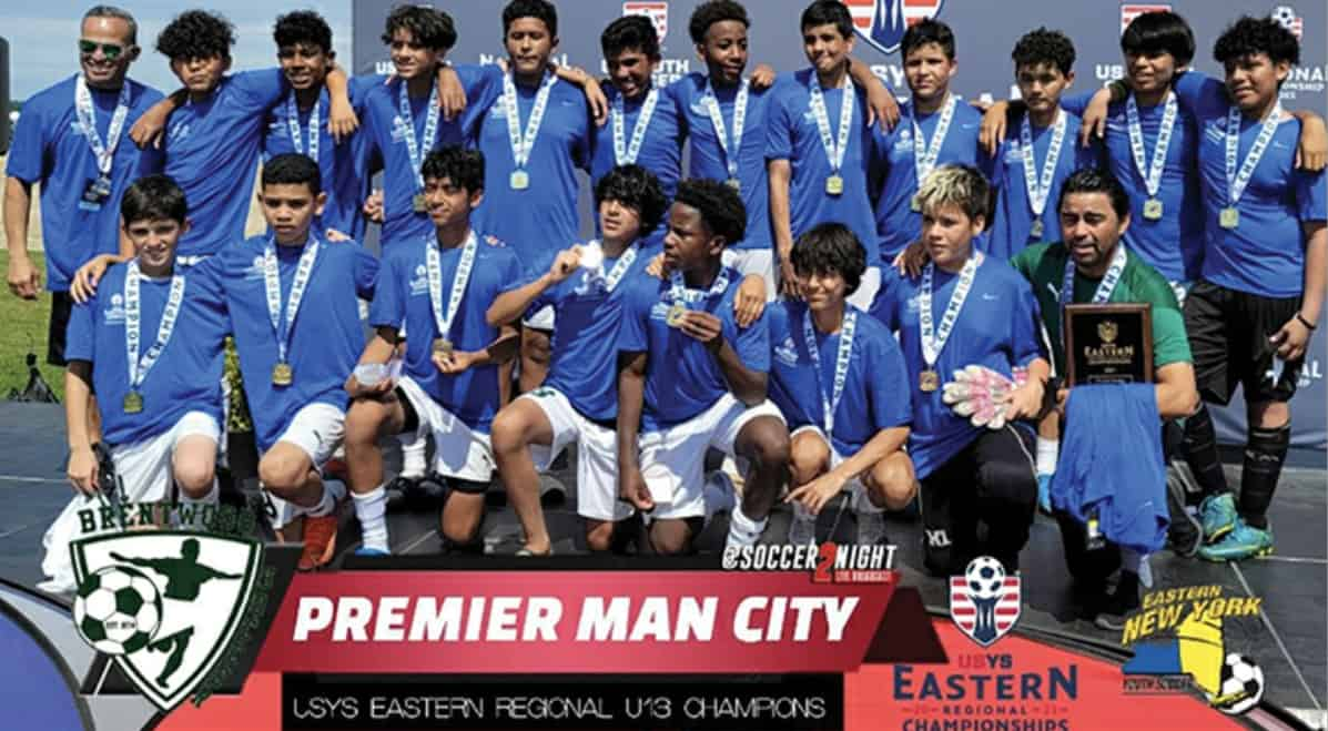 HEADING FOR THE SUNSHINE STATE: Brentwood Premier Man City aims for Boys U-13 national title - Front Row Soccer