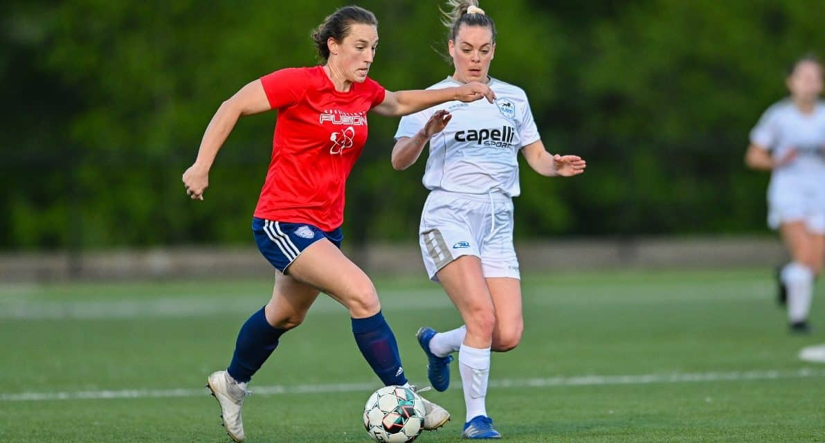 BACK IN THE HUNT: Fusion rallies to defeat the Rush, moves into contention for UWS playoff berth