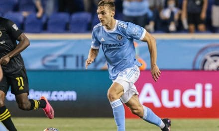 FROM NERVES TO NERVES OF STEEL: NYCFC's Sands helps close out Gold Cup win in USMNT debut