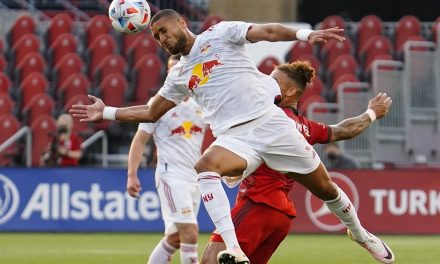 THEY GET THE POINT: Red Bulls tie Toronto FC on the road