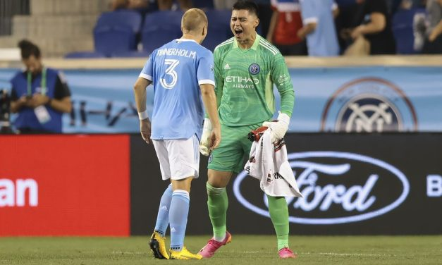 GOAL STOPPER, GOAL CREATOR: Barraza secures 1st shutout, sets up lone goal in NYCFC win